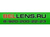Логотип Bellens.ru, интернет-магазин контактных линз