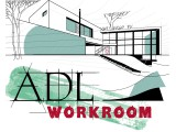 Логотип ADL Works Студия - дизайн интерьера